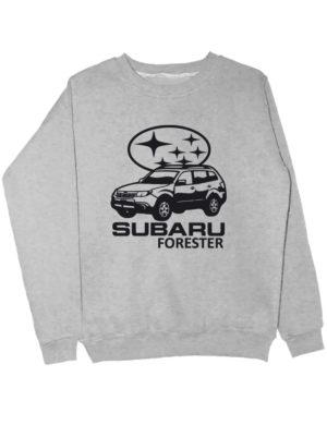 Свитшот Subaru forester серый