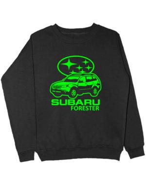 Свитшот Subaru forester черный
