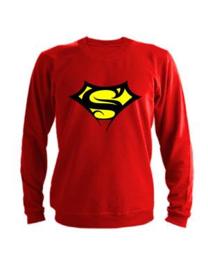 Свитшот Supergirll красный