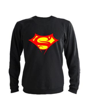 Свитшот Supergirll черный