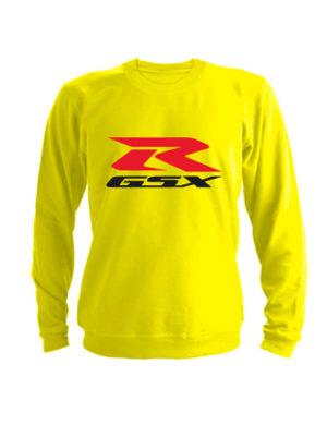 Свитшот Suzuki GSX R желтый