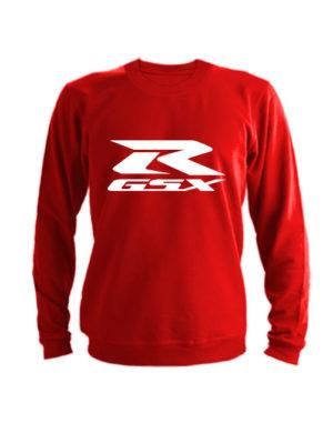 Свитшот Suzuki GSX R красный