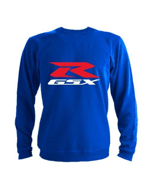 Свитшот Suzuki GSX R синий