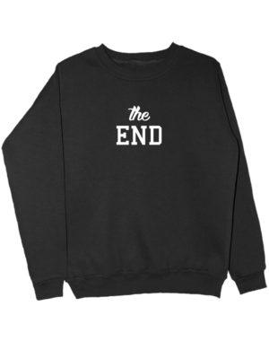 Свитшот The end черный