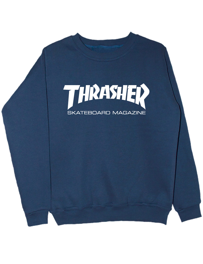 Свитшот Thrasher индиго