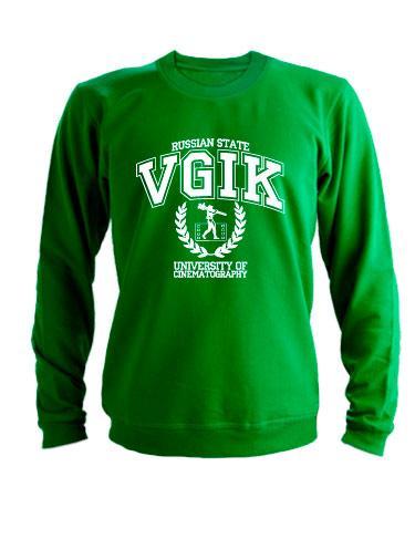 Свитшот VGIK зеленый