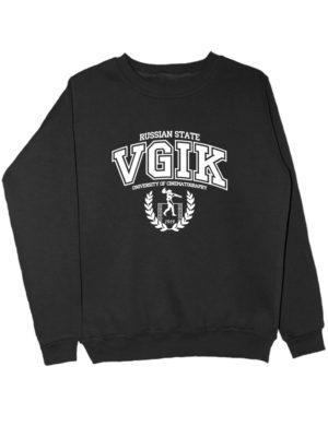 Свитшот VGIK Russian State черный