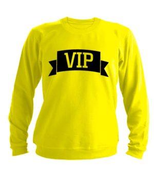 Свитшот VIP желтый