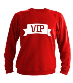 Свитшот VIP красный