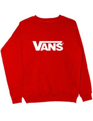 Свитшот Vans красный