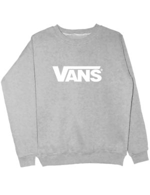 Свитшот Vans серый меланж