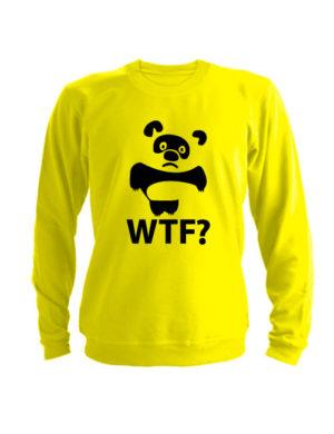 Свитшот WTF Винни Пух желтый
