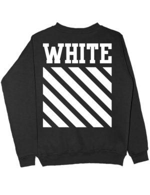 Свитшот White черный