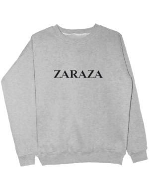 Свитшот Zaraza серый