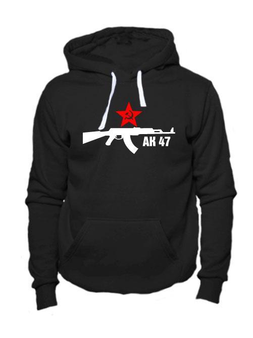 Толстовка АК 47 черная