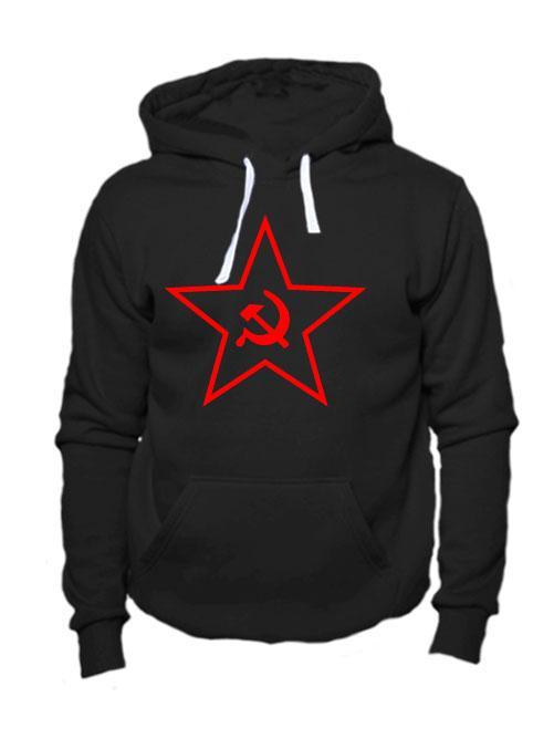 Толстовка Звезда СССР черная