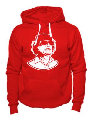 Толстовка Каддафи красная