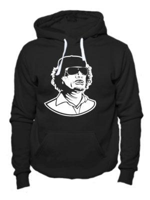 Толстовка Каддафи черная