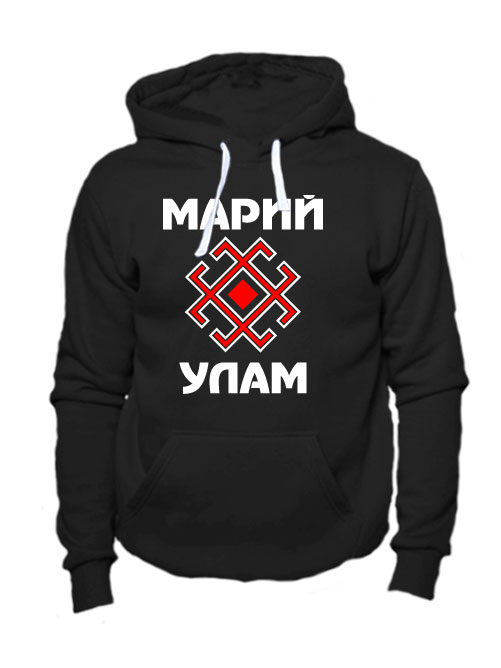 Толстовка Марий Улам черная