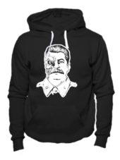 Толстовка Сталин терминатор черная