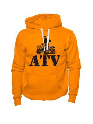 Толстовка ATV оранжевая