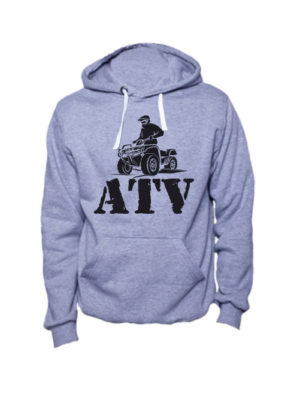 Толстовка ATV серая