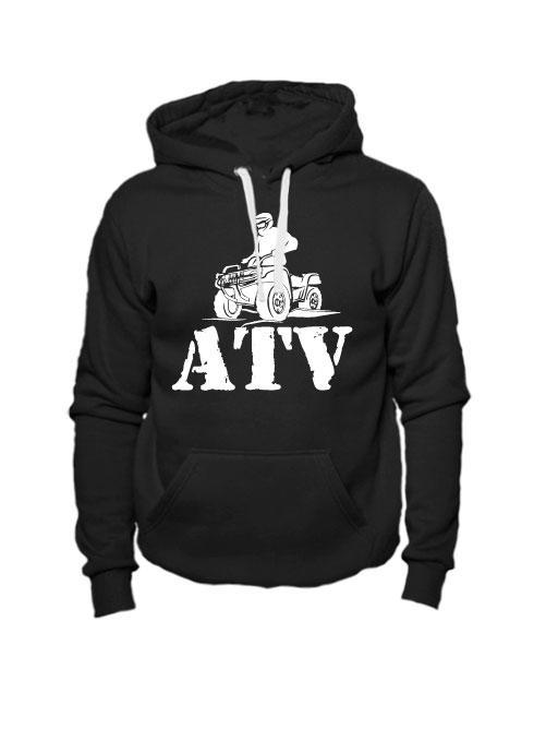 Толстовка ATV черная