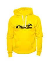 Толстовка ATV evolution желтая