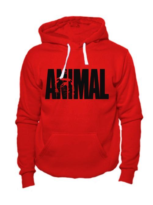 Толстовка Animal красная