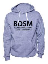 Толстовка BDSM серый меланж