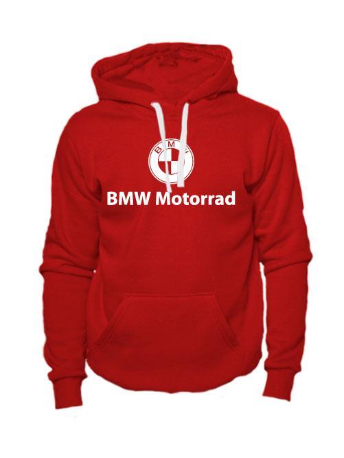 Толстовка BMW Motorrad красная