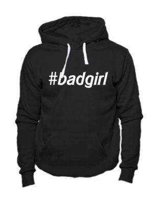 Толстовка Badgirl черная