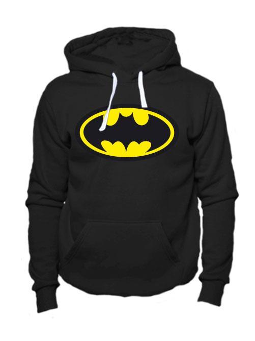 Толстовка Batman черная