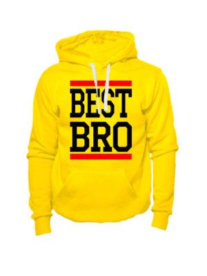 Толстовка Best bro желтая