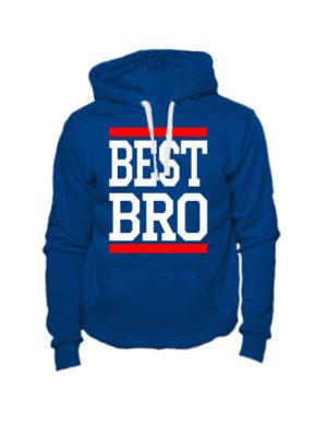 Толстовка Best bro индиго