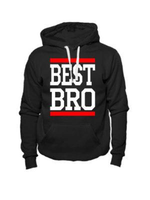 Толстовка Best bro черная