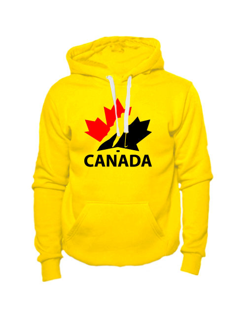 Толстовка Canada желтая