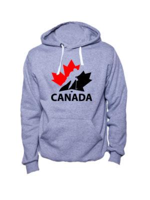Толстовка Canada серая