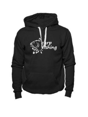 Толстовка Carp fishing 2 черная