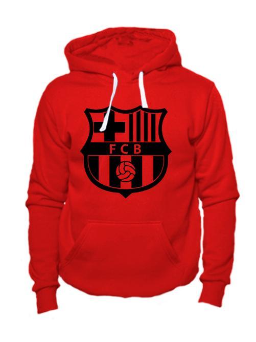 Толстовка FC Barcelona красная