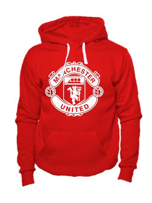 Толстовка FC Manchester United красная