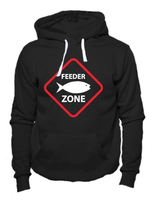Толстовка Feeder zone черная