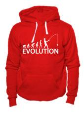 Толстовка Fishing Evolution красная