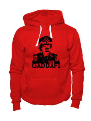 Толстовка Gaddafi красная