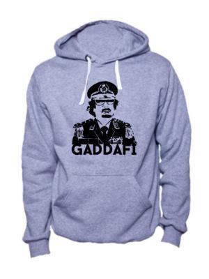 Толстовка Gaddafi серая