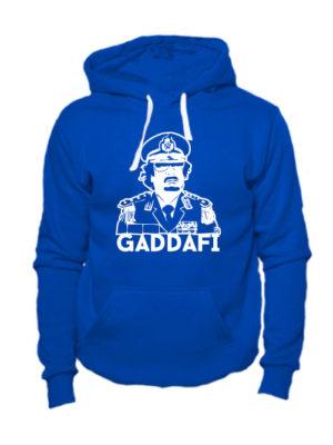 Толстовка Gaddafi синяя