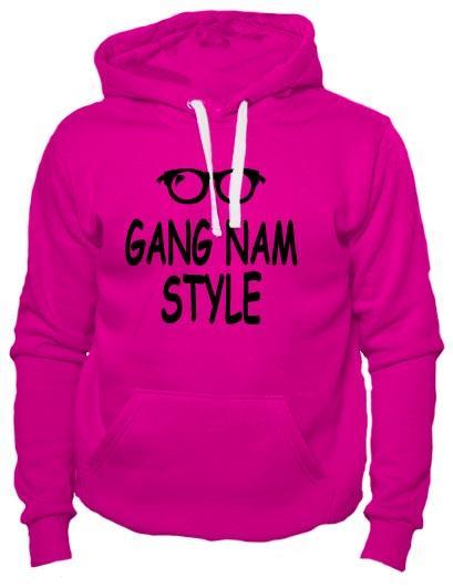 Толстовка Gangnam style коралловая