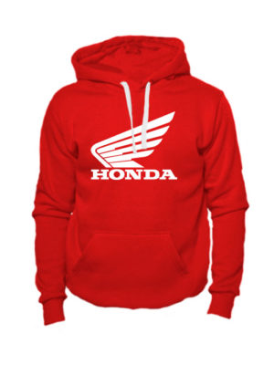 Толстовка Honda красная