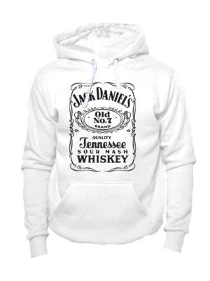 Толстовка Jack Daniels белая