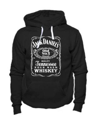 Толстовка Jack Daniels черная